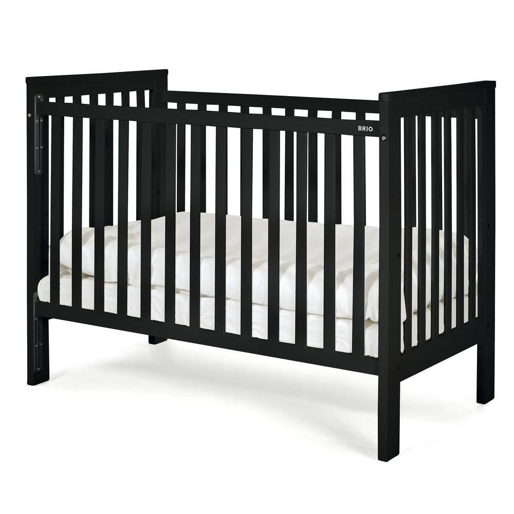 brio bett cot two ohne matratze black 2013. Black Bedroom Furniture Sets. Home Design Ideas