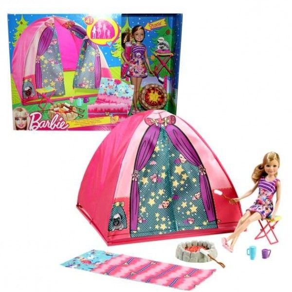 barbie campingzelt