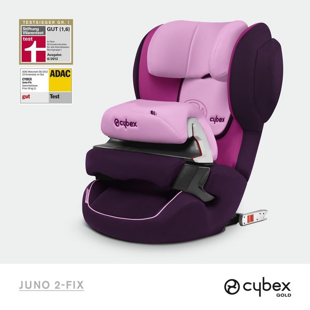 cybex juno 2 fix gold lollipop purple 2014 g nstig online kaufen bei. Black Bedroom Furniture Sets. Home Design Ideas