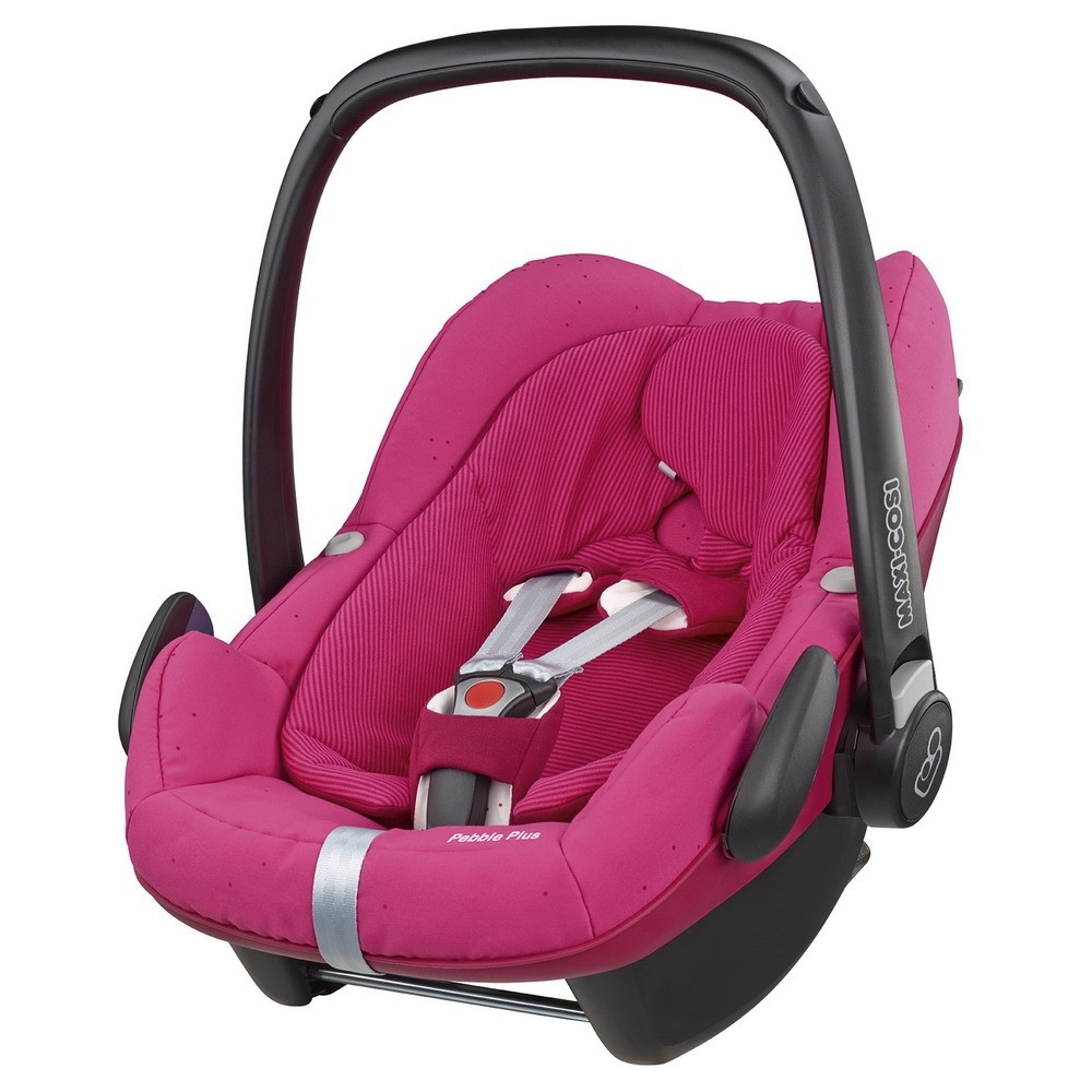 buy maxi cosi pebble plus i size isofix optional berry pink 2015 for low prices online at. Black Bedroom Furniture Sets. Home Design Ideas