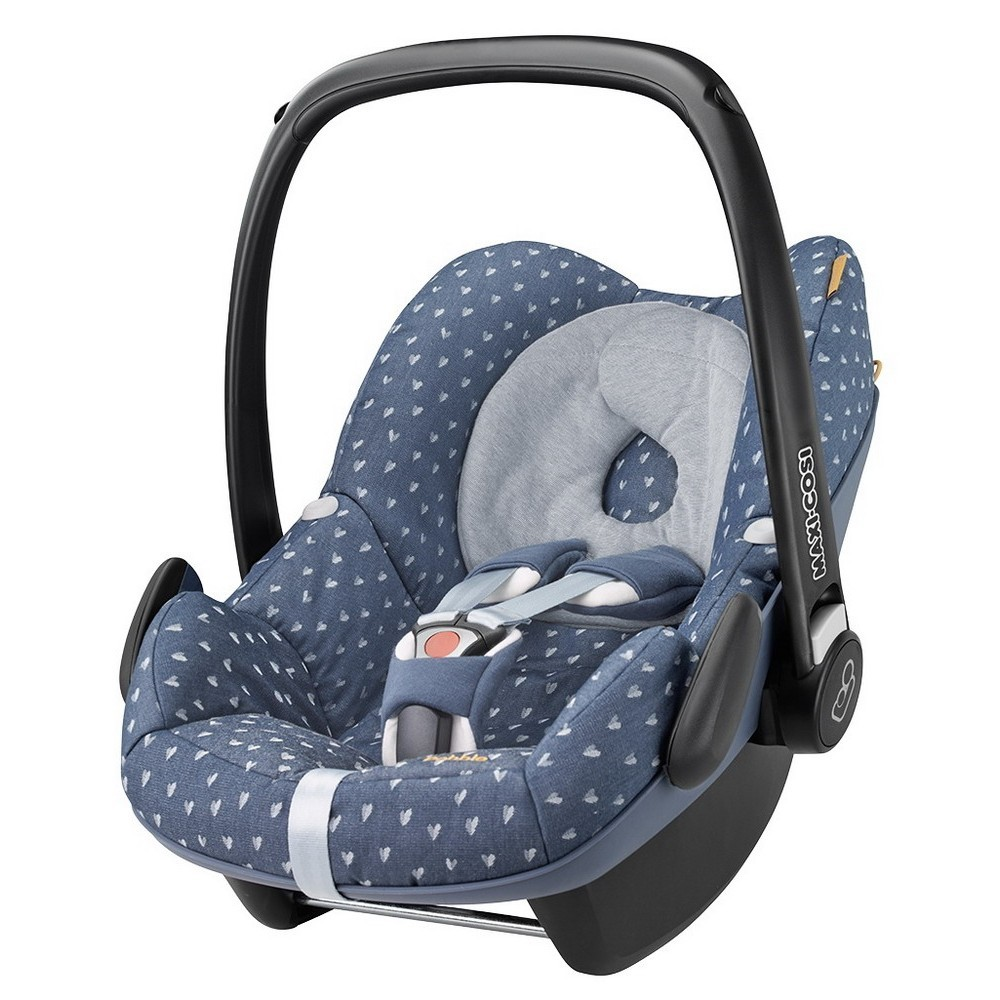 buy maxi cosi pebble isofix optional limited edition denim hearts 2015 for low prices. Black Bedroom Furniture Sets. Home Design Ideas