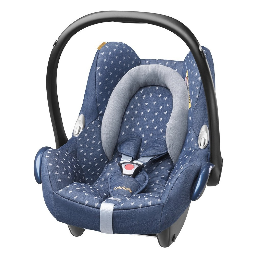 buy maxi cosi cabriofix isofix optional limited edition denim hearts 2015 for low prices. Black Bedroom Furniture Sets. Home Design Ideas