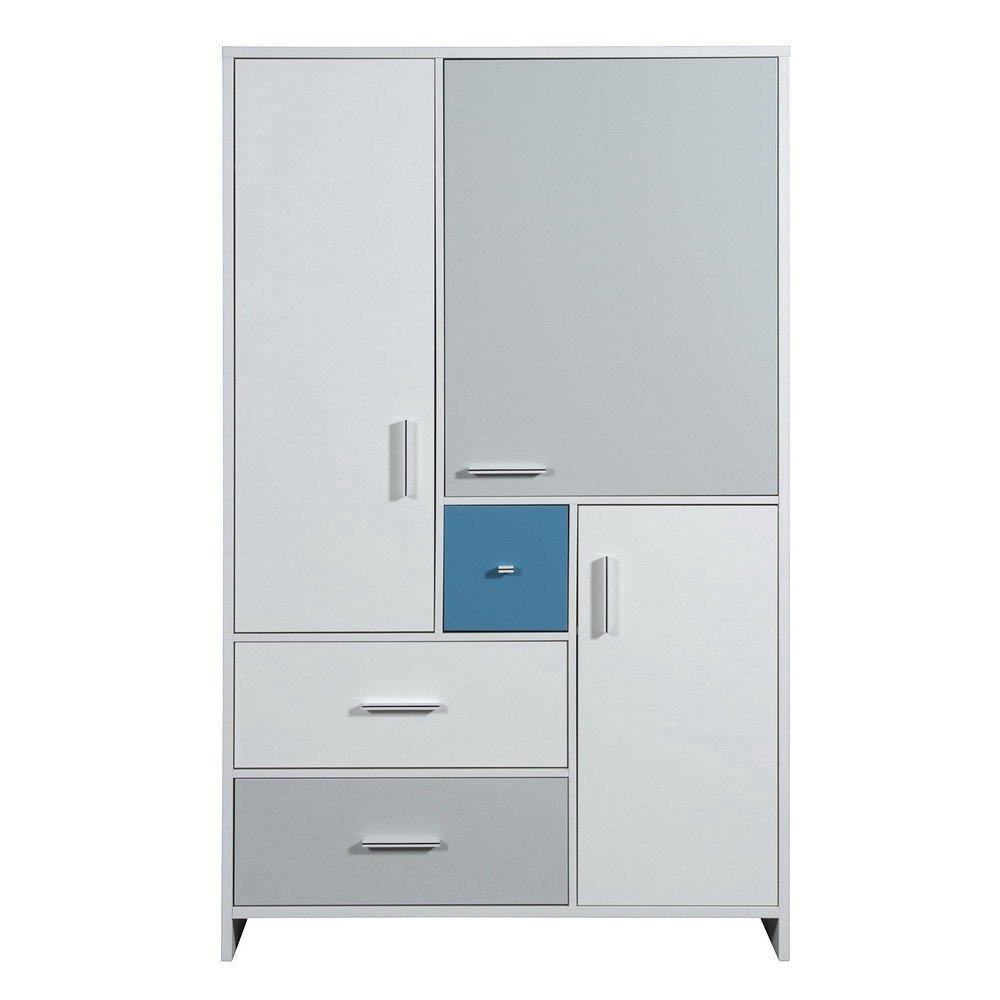 schardt candy blue schrank mit 3 t ren g nstig online. Black Bedroom Furniture Sets. Home Design Ideas
