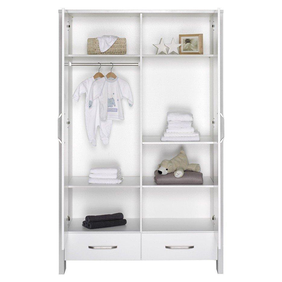 schardt capri white schrank mit 2 t ren g nstig online. Black Bedroom Furniture Sets. Home Design Ideas