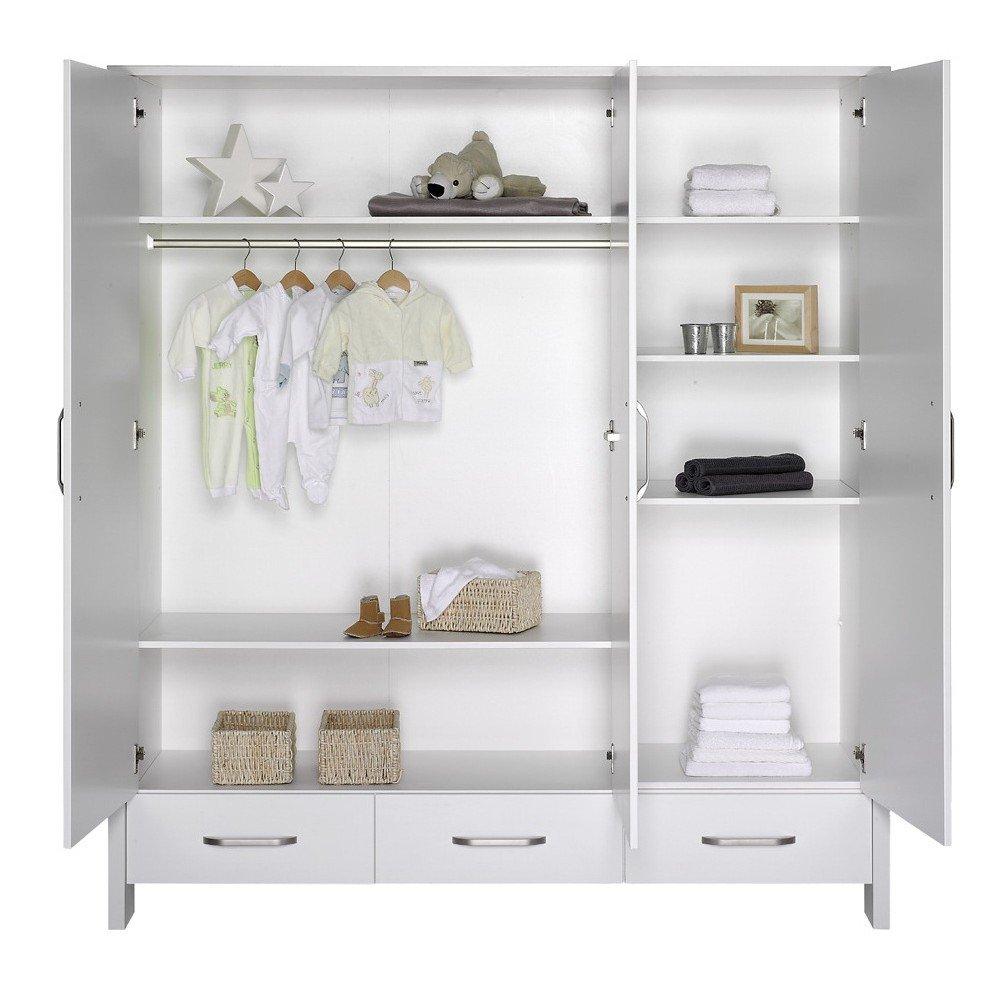 schardt capri white schrank mit 3 t ren g nstig online. Black Bedroom Furniture Sets. Home Design Ideas