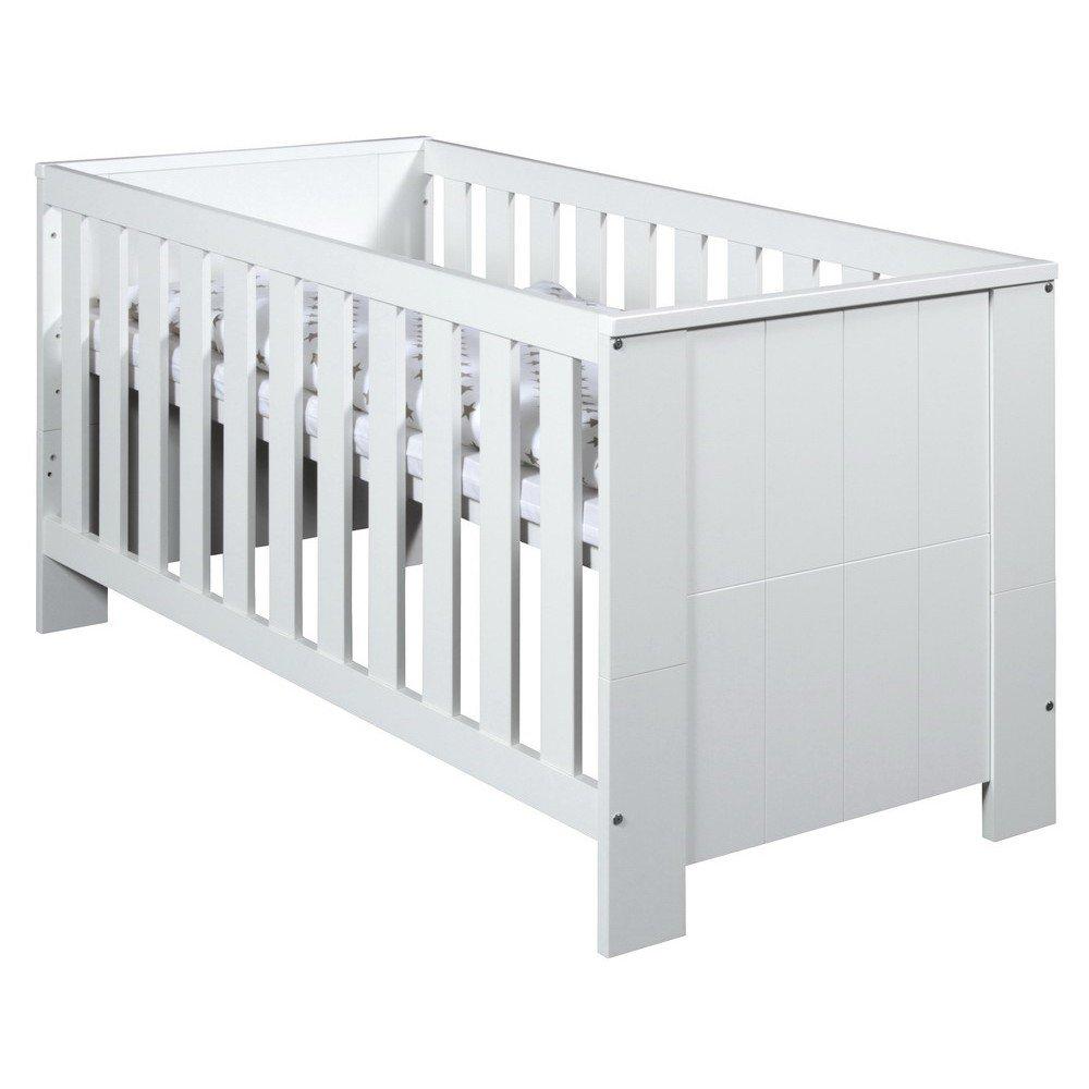 buy schardt capri white kombi kinderbett 70x140cm for low prices online at. Black Bedroom Furniture Sets. Home Design Ideas