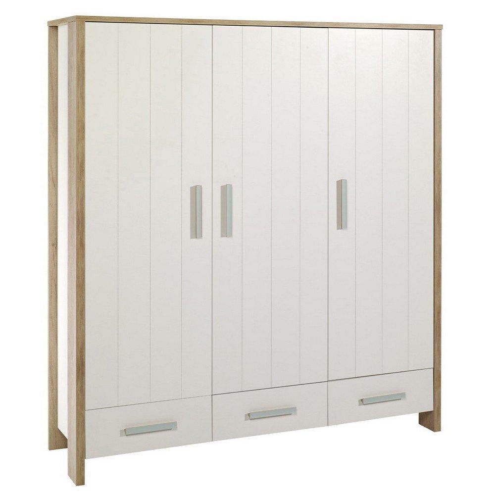 schardt capri oak schrank mit 3 t ren g nstig online. Black Bedroom Furniture Sets. Home Design Ideas