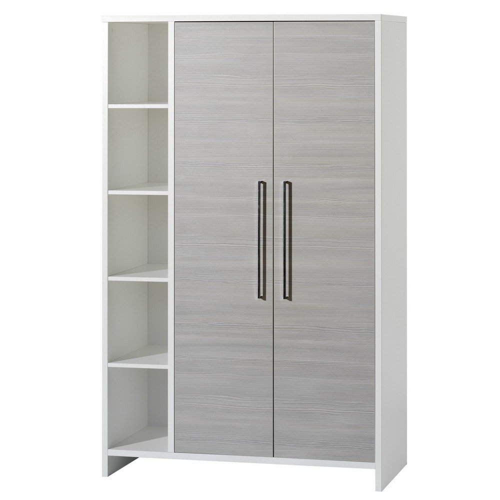 schardt eco silber schrank mit 2 t ren g nstig online kaufen bei. Black Bedroom Furniture Sets. Home Design Ideas