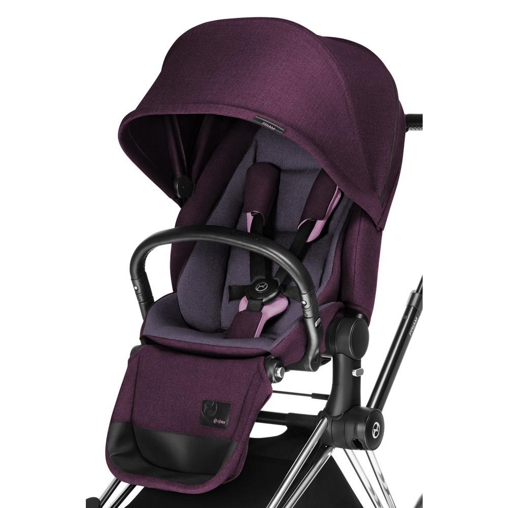 cybex priam platinum 2 in 1 light sitz und kinderwagenaufsatz grape juice purple 2015. Black Bedroom Furniture Sets. Home Design Ideas