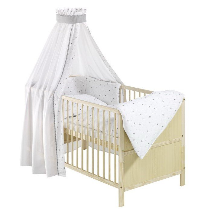 schardt conny einzelbett kombi kinderbett 70x140 cm ohne textiler ausstattung natur lackiert. Black Bedroom Furniture Sets. Home Design Ideas