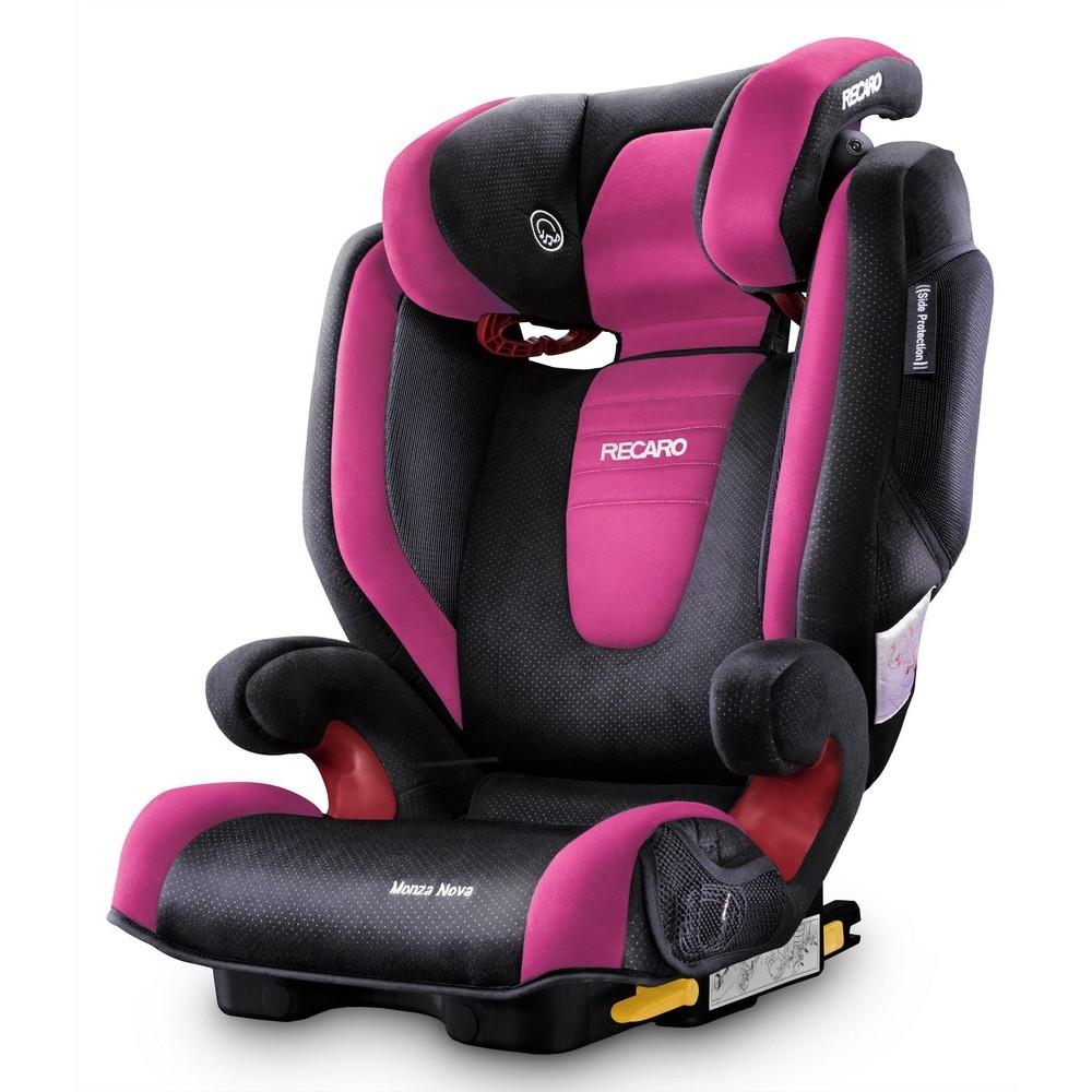buy recaro monza nova 2 seatfix isofix pink for low prices online at. Black Bedroom Furniture Sets. Home Design Ideas