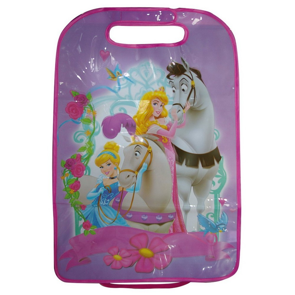 buy kaufmann car seat back protector disney princess for low prices online at. Black Bedroom Furniture Sets. Home Design Ideas