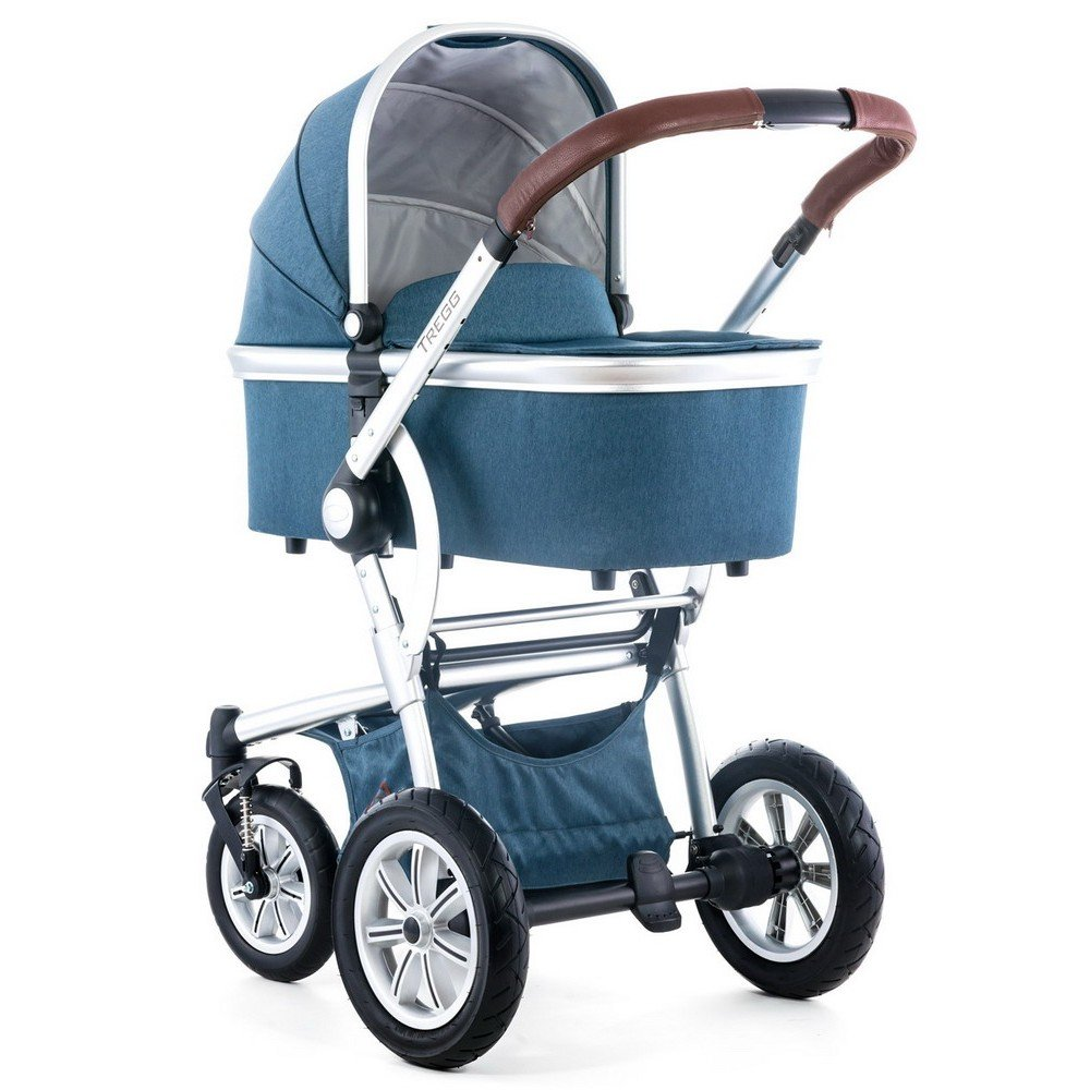 Buy Moon Tregg incl. Alu Deluxe Carrycot - 983 INDIGO - 2016 for ...