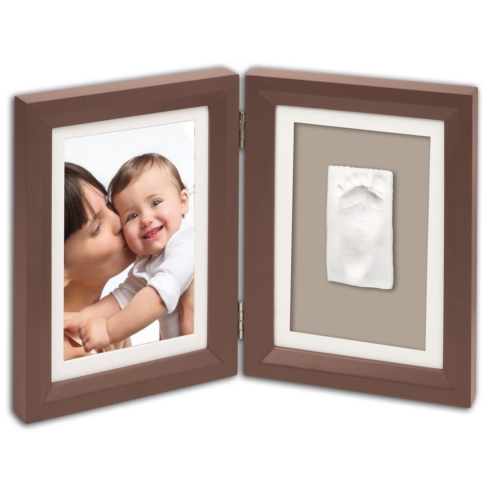Baby Art Print Frame, eckiger Rahmen - BROWN / TAUPE BEIGE günstig ...