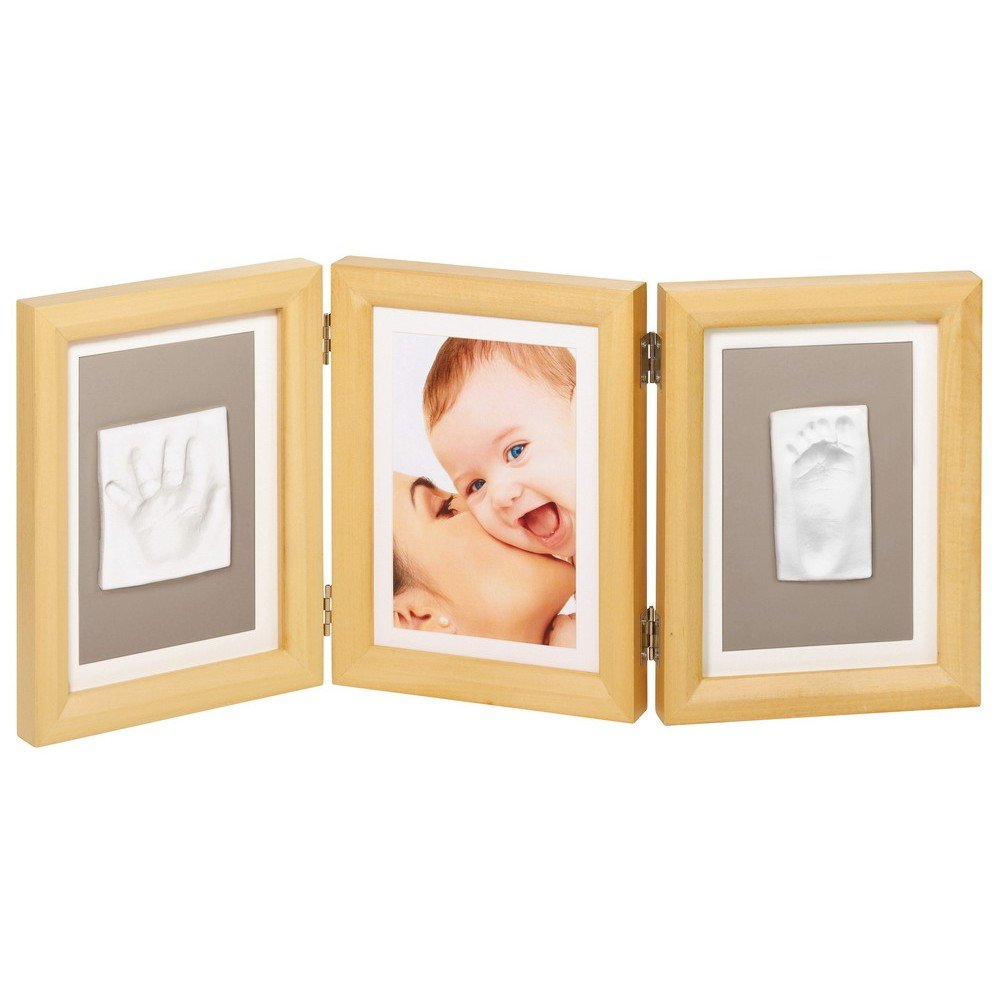 Baby Art Double Print Frame, eckiger Rahmen - NATURAL günstig online ...