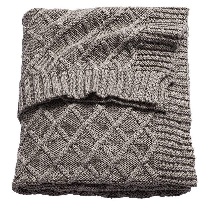 Buy Sonnenstrasse 11 Diamond Knitted Baby Blanket ...