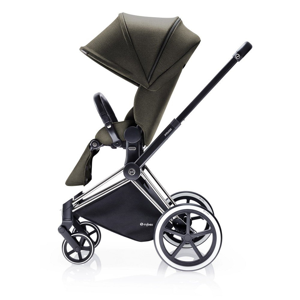 buy cybex priam stroller with lux seat city light wheels olive khaki 2016 for low prices. Black Bedroom Furniture Sets. Home Design Ideas