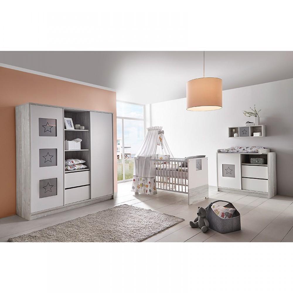 schardt kinderzimmer eco star holzdekor cascina wei. Black Bedroom Furniture Sets. Home Design Ideas