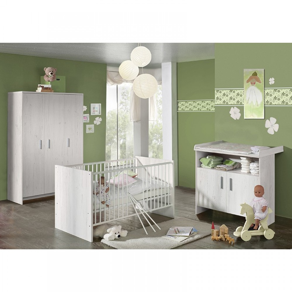 baby plus flip kinderzimmer 3 teilig anderson pine. Black Bedroom Furniture Sets. Home Design Ideas