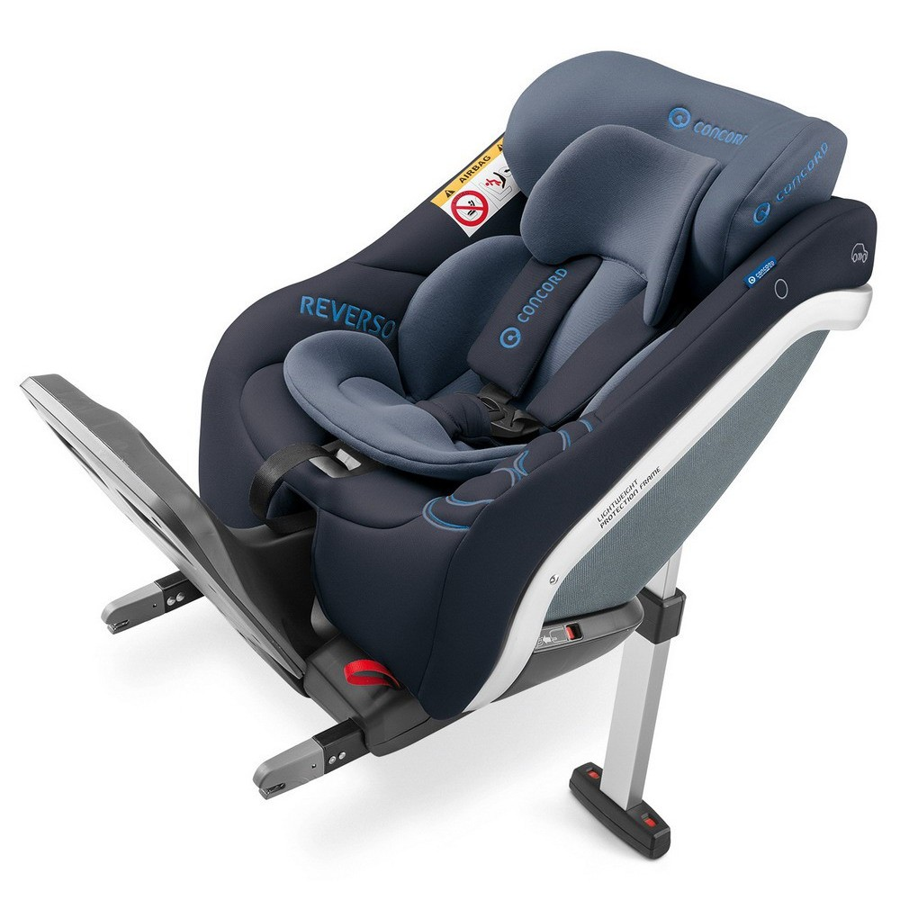 Concord Reverso Plus I Size Reboard Isofix, Collection 2018   Deep Water  Blue