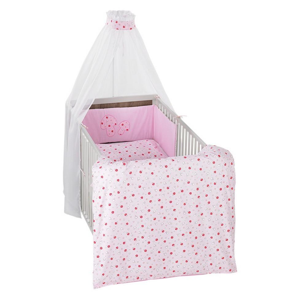 Baby Bettwäsche Set Mit Himmel Und Nestchen Schlafzimmer Ideen