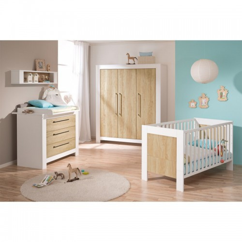 paidi celino kinderzimmer mit kleiderschrank. Black Bedroom Furniture Sets. Home Design Ideas