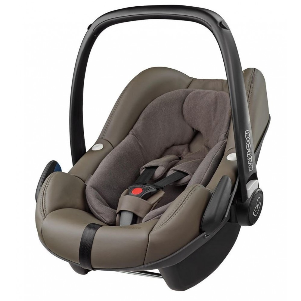 buy maxi cosi pebble isofix optional major brown leathercollection 2016 for low prices. Black Bedroom Furniture Sets. Home Design Ideas