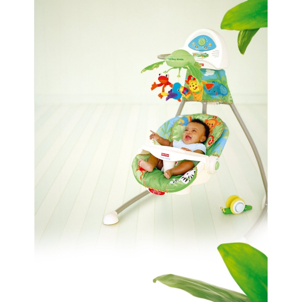 fisher price rainforest babyschaukel g nstig online kaufen bei. Black Bedroom Furniture Sets. Home Design Ideas