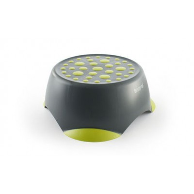Hoppop Monti Trittschemel - GREY & LIME