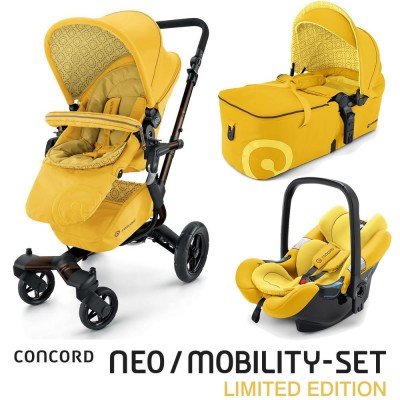 Concord Neo Mobility-Set Limited Edition - BLAZING YELLOW