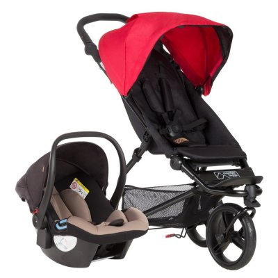 Mountain Buggy Mini 3 Travelset - BERRY