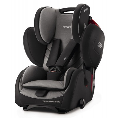 Recaro Young Sport Hero, Kollektion 2017 - Carbon Black