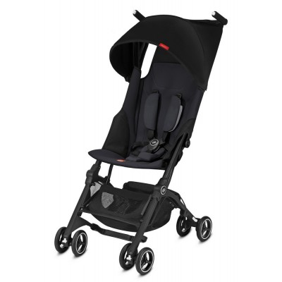 Goodbaby gb Pockit+ Plus Gold Reisebuggy, Kollektion 2018 - Satin Black