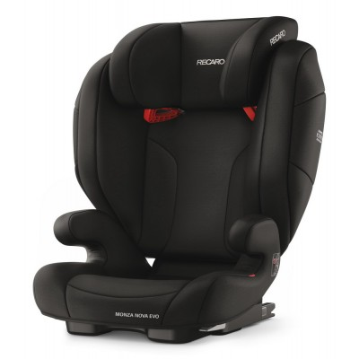 Recaro Monza Nova Evo Seatfix, Kollektion 2018 - Performance Black