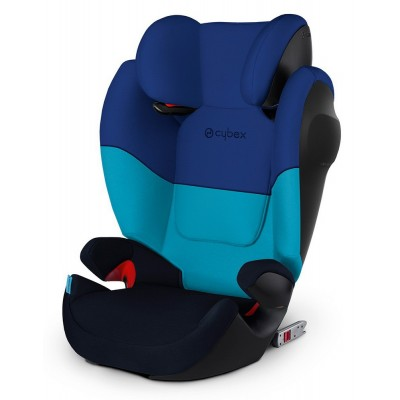 Cybex Solution M-Fix SL, Kollektion 2018 - Blue Moon / Navy