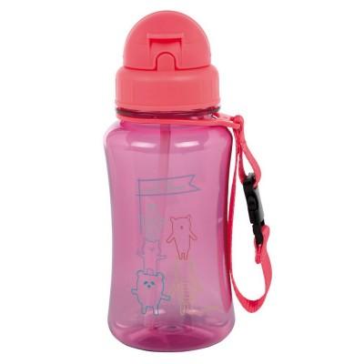 Lässig 4Kids Drinking Bottle, Collection 2018 - About Friends Pink