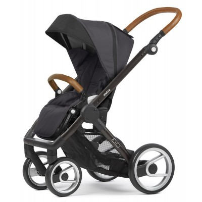 Mutsy Evo Stroller / Black-Brown Frame, Collection 2018 - Urban Nomad Dark Grey
