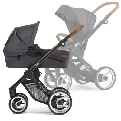 Mutsy Evo Multifunctionstroller / Black-Brown Frame, Collection 2018 - Urban Nomad Dark Grey