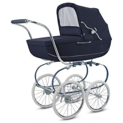 Inglesina Classica Pram with Carrycot, Collection 2018 - Jacquard Blu