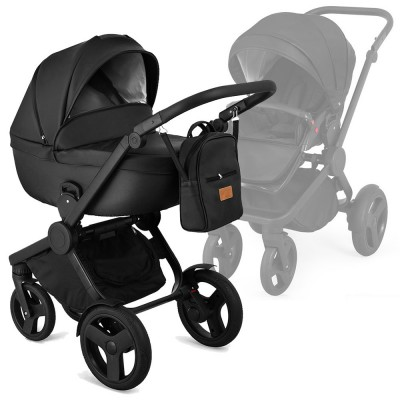Qumes Flow Multifunctionstroller, Collection 2018 - Noir Black