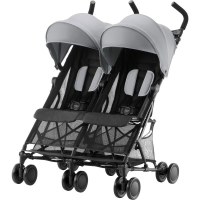 Britax Römer Holiday Double Buggy, Collection 2018 - Steel Grey