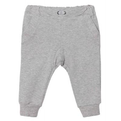 Steiff Jogginghose, Größe: 92 - Snow Grey Melange / Gray