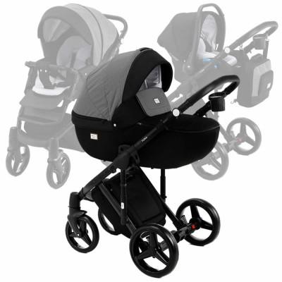 Montysot Yuna Stroller 3-in-1 Travelsystem 14 pcs - Black Diamond