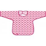 L�ssig Bib Long Sleeve Waterproof L�tzchen 12-24 Monate - Mushroom Magenta - 2013
