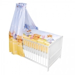 Z�llner Bett-Set - Baby Pooh and Friends Blau