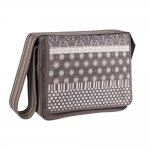 L�ssig Casual Messenger Bag - Multimix Slate - 2013