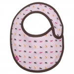 L�ssig Bib Small L�tzchen 0-6 Monate - Savannah Pink - 2012