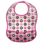 L�ssig Bib Medium EVA L�tzchen 6-24 Monate - Savannah Pink - 2012