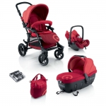 Concord Fusion Travel-Set - RED - 2013