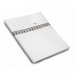 Hartan Bed Linen Embroidery Logo - 534 - Karo Marine/Beige - 2013